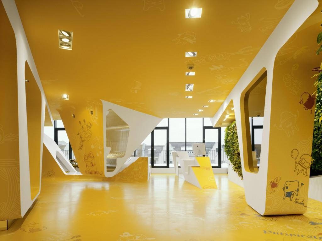 Ku64 berlin almanya dental interior for Interior design studium berlin